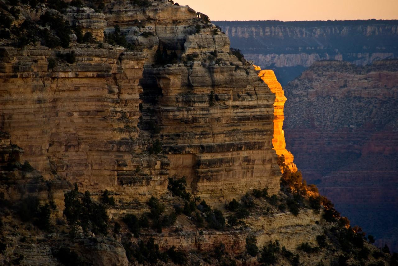 Start of Sunrise @ Grand Canyon