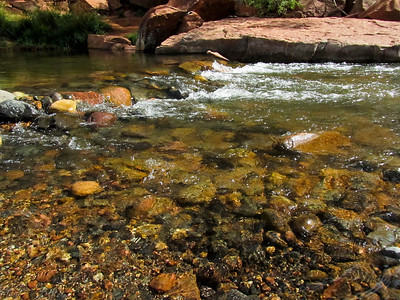 Oak Creek flowing through Sedona