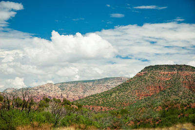 Traveling into Sedona