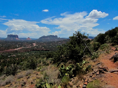 View from Airport Mesa Trail