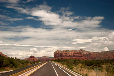 Road into Sedona