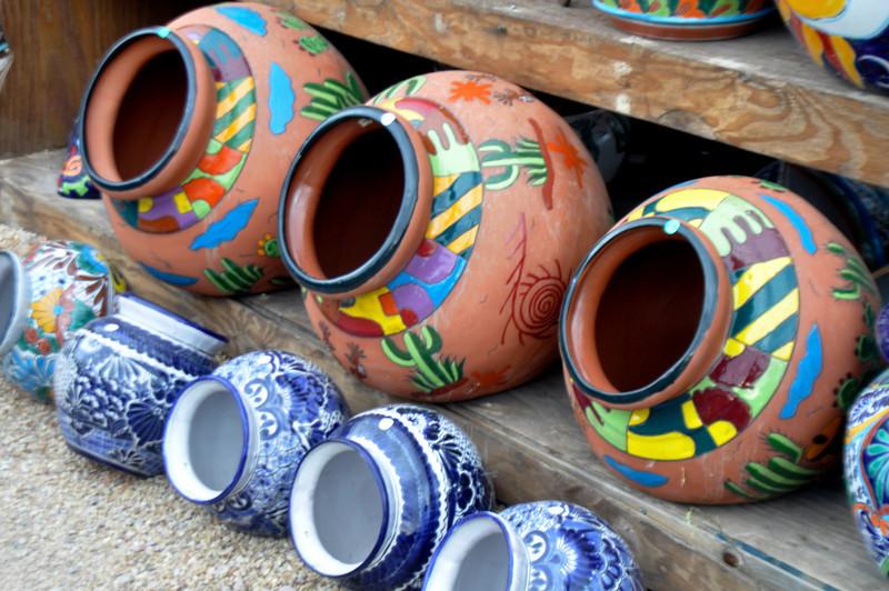 pottery jars