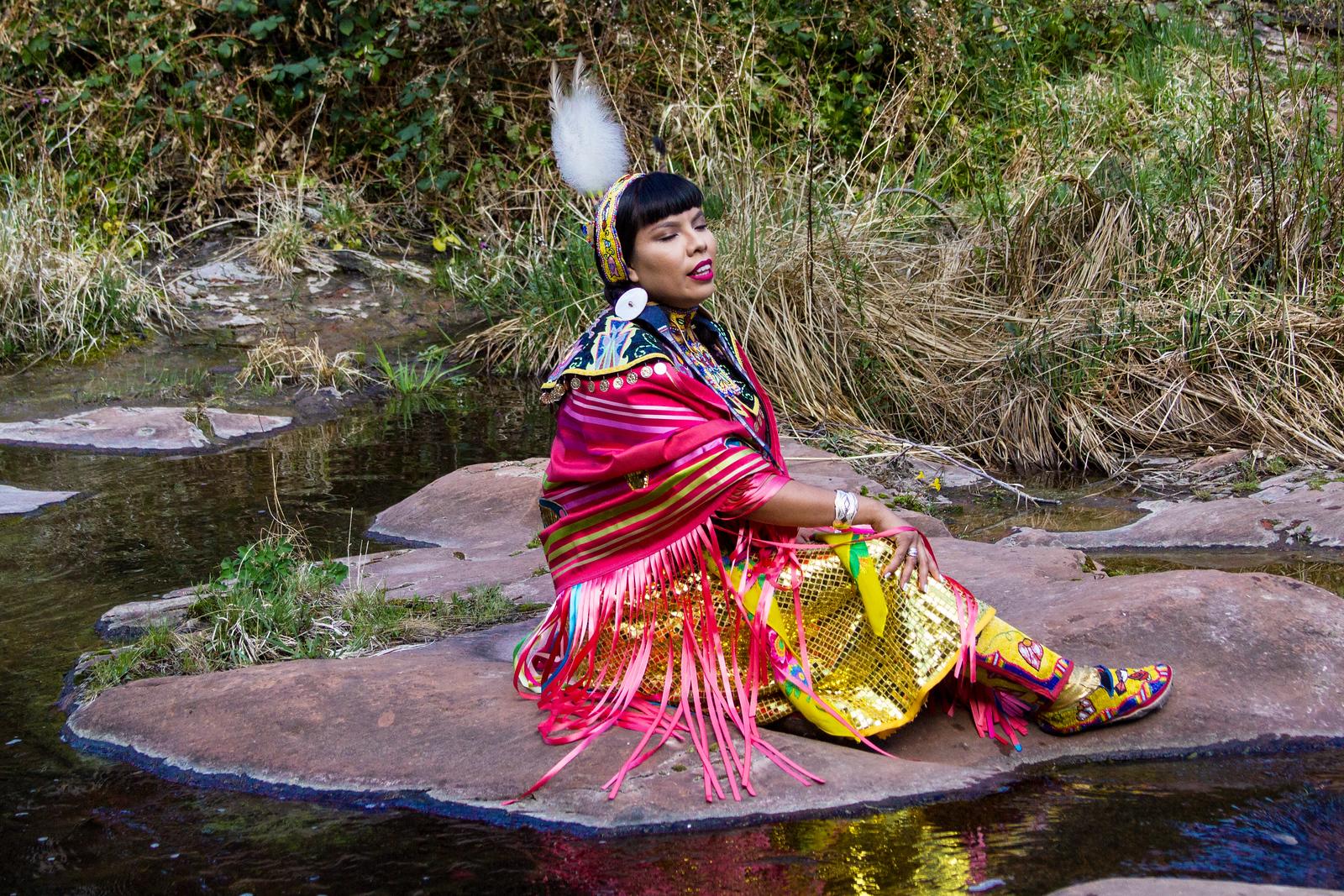 Yolanda by the Stream