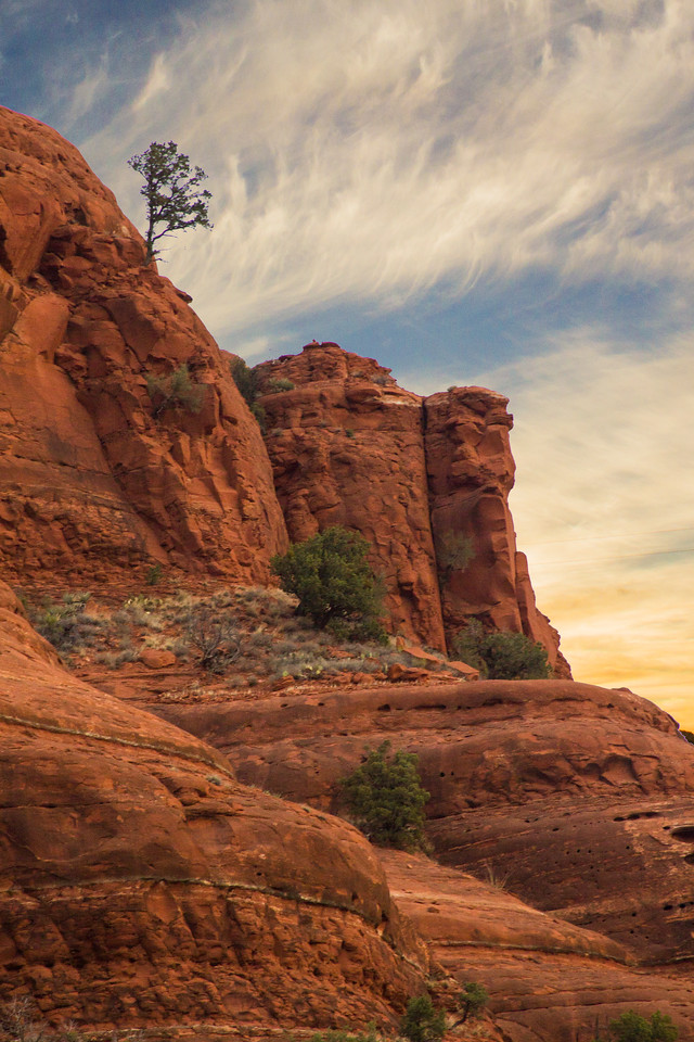 Sunrise at Bell Rock