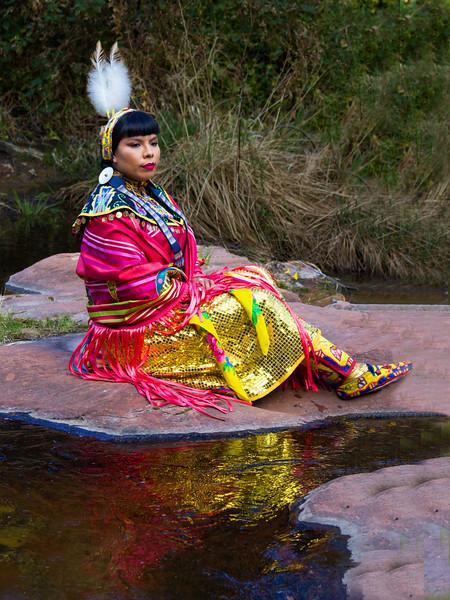 Dancer at the Creek