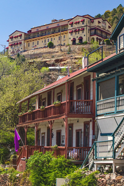 Streets in Jerome