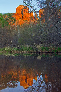 Reflection in Oak Creek
