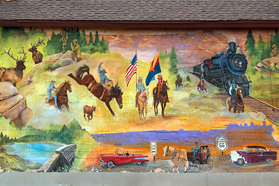 Mural, Williams, AZ