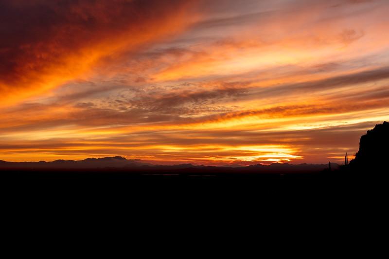 Sunset at Gates Pass