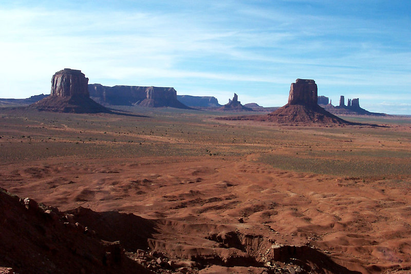 Another shot of Monument Valley.