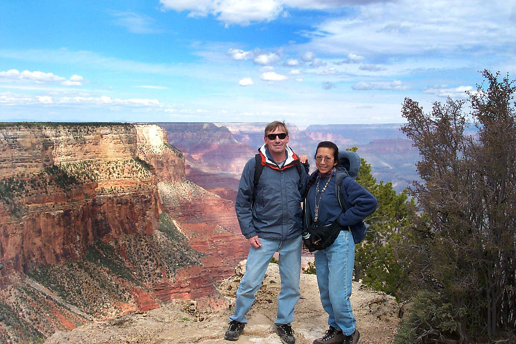 The Grand Canyon was the last place we visited. Next the long drive home.