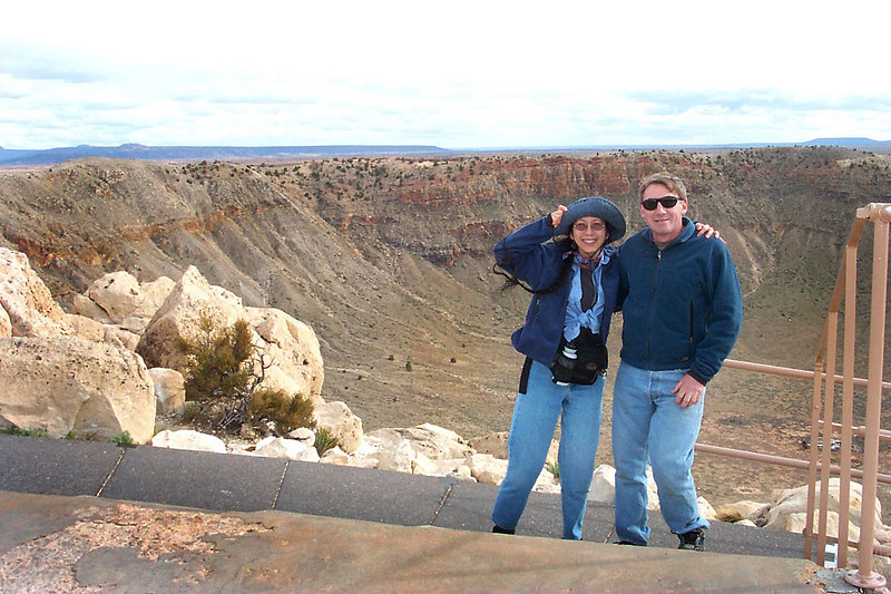 The first place we visited was Meteor Crater, the wind was blowing over 30 mph here. We only stayed here about an hour, we have been here before about 5 years ago, it was getting late and we needed to find a camp spot for the night.