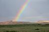 Rainbow over Kayenta, AZ, 7 September 2010.