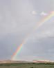 Rainbow over Kayenta, AZ.