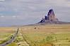 "Agathla Peak, or ""El Capitan"", along U.S. Route 163 between Kayenta and Monument Valley, AZ. 8 September 2010."