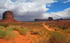 Storm behind Monument Valley, 8 September 2010