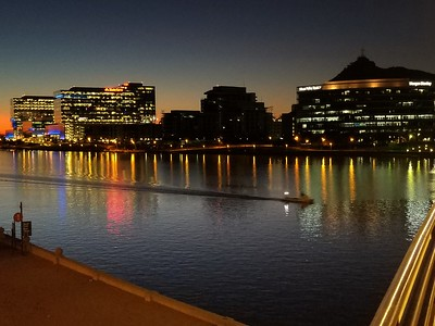 Downtown Tempe at sunrise