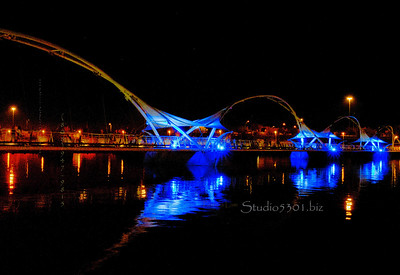 Tempe Arts blue Bridge_2297