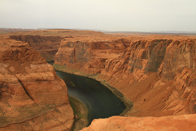 colorado river at horseshoe bend page arizona
