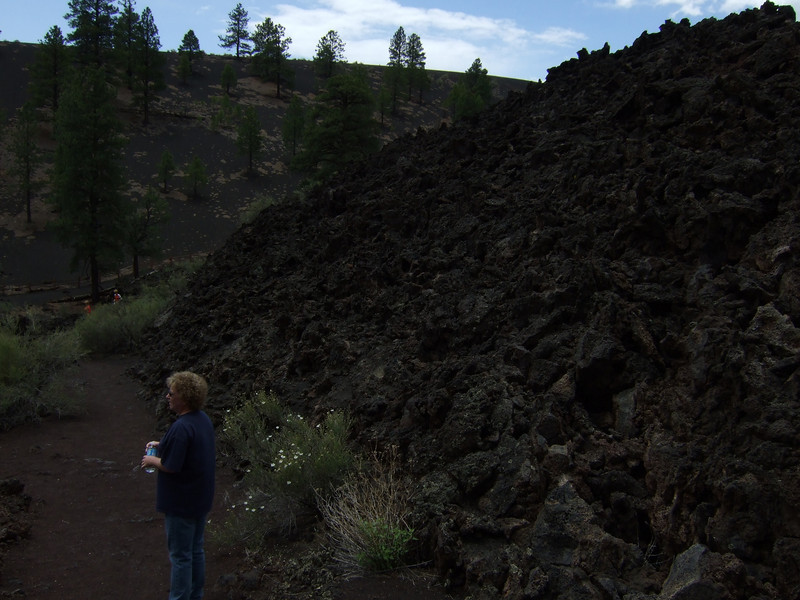 Lava Flow Trail in Sunset Crater National Monument