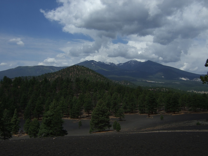 Lenox Crater Trail in Sunset Crater National Monument