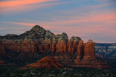 Arizona Travel Photography - Sedona Sunset