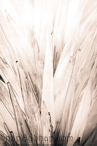 Glass Spike Background