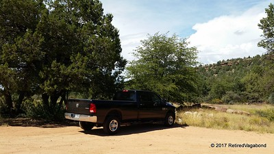 Parked at Trailhead