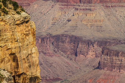 Cliff Face in the Grand Canyon