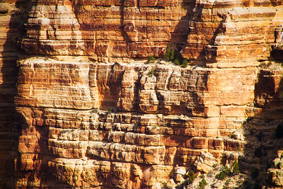 Rock Face with layers of different colors
