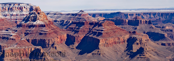 Grand Canyon Winter Panorama