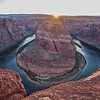 Sunset @ Horseshoe Bend in Page, AZ