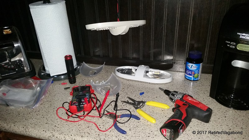 New Light Fixture Install