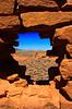Wukoki Pueblo ruins in the Wupatki National Monument near Flagstaff, Arizona.