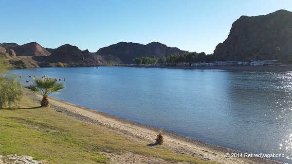 The Colorado River, Buckskin State Park Beach