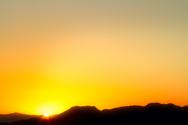 Yellow Sunset