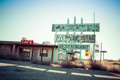 Abandoned Hotel on Route 66