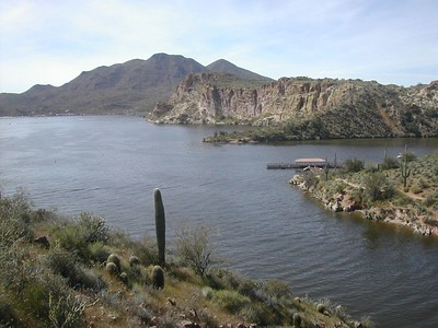 Saguaro Lake hike
