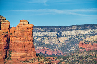 Red cliff in Sedona