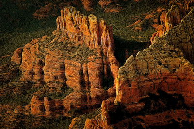 Sedona Aerial Paintings