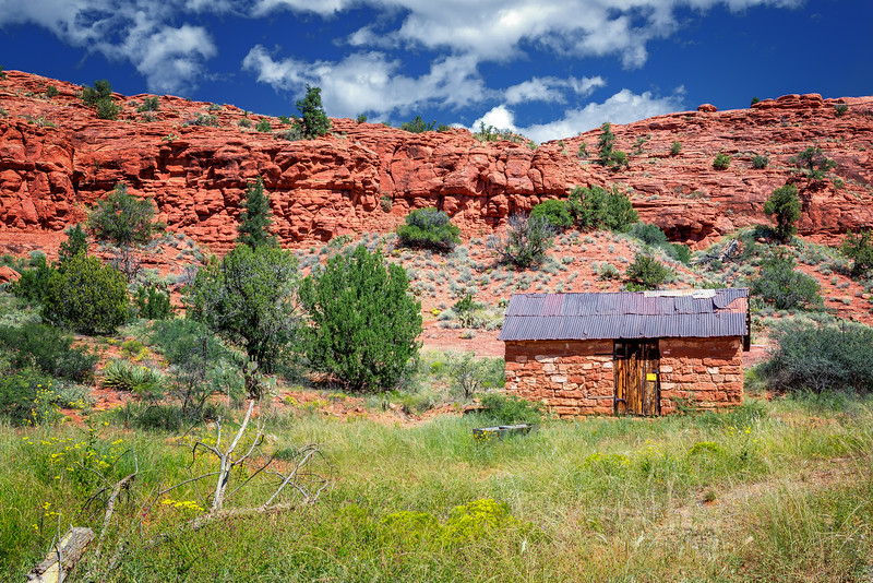 Red Rock Shed