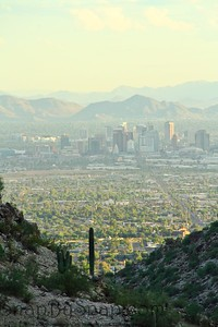 Phoenix from South Mountain