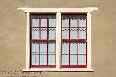 A pair of old windows