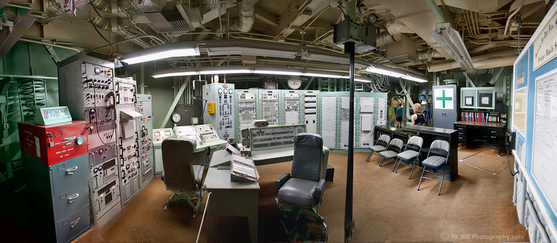 Control room of complex 571-7 at the Titan Missile Museum in Tucson, AZ