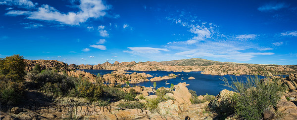 Watson Lake Arizona Panorama