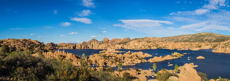 Watson Lake Arizona Panorama