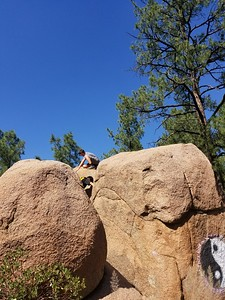 Boulder Climbing - Aiden