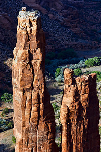 Spider Rock, Canyon De Chelly.