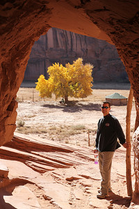 Canyon de Chelly - Approximately 40 Navajo families live in the park