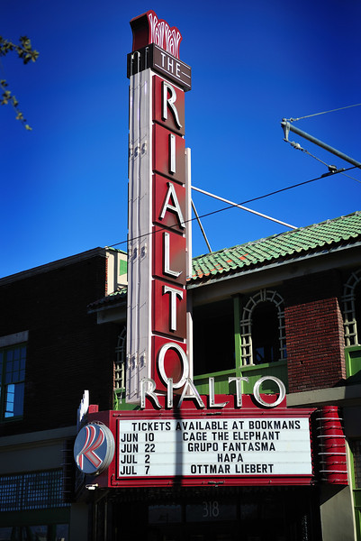 Rialto Theatre in downtown Tucson, Arizona